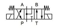 """4WE6-M-6XJ/G12-N-L-V Schaltstellung """"M"""""""