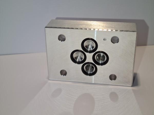 Umlenkdeckplatte NG 06 B-T (Spülplatte)