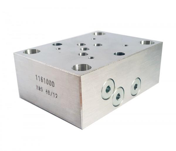 Adapterplatte NG16 auf NG 10