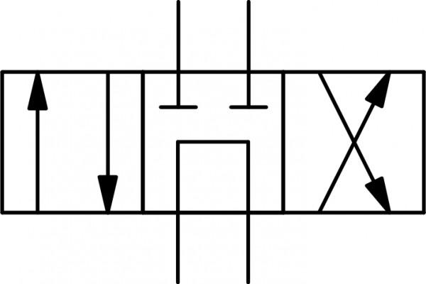 """4WE6-G-6XJ/G24-N-L-V Schaltstellung """"G"""""""