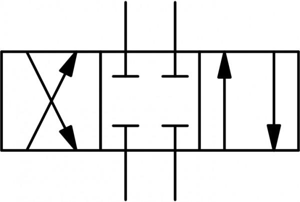 """4WE6-E-6XJ/G24-N-L-V Schaltstellung """"E"""""""